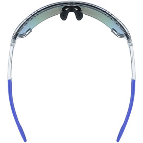 UVEX Sportstyle 707 Glasses clear/mirror blue